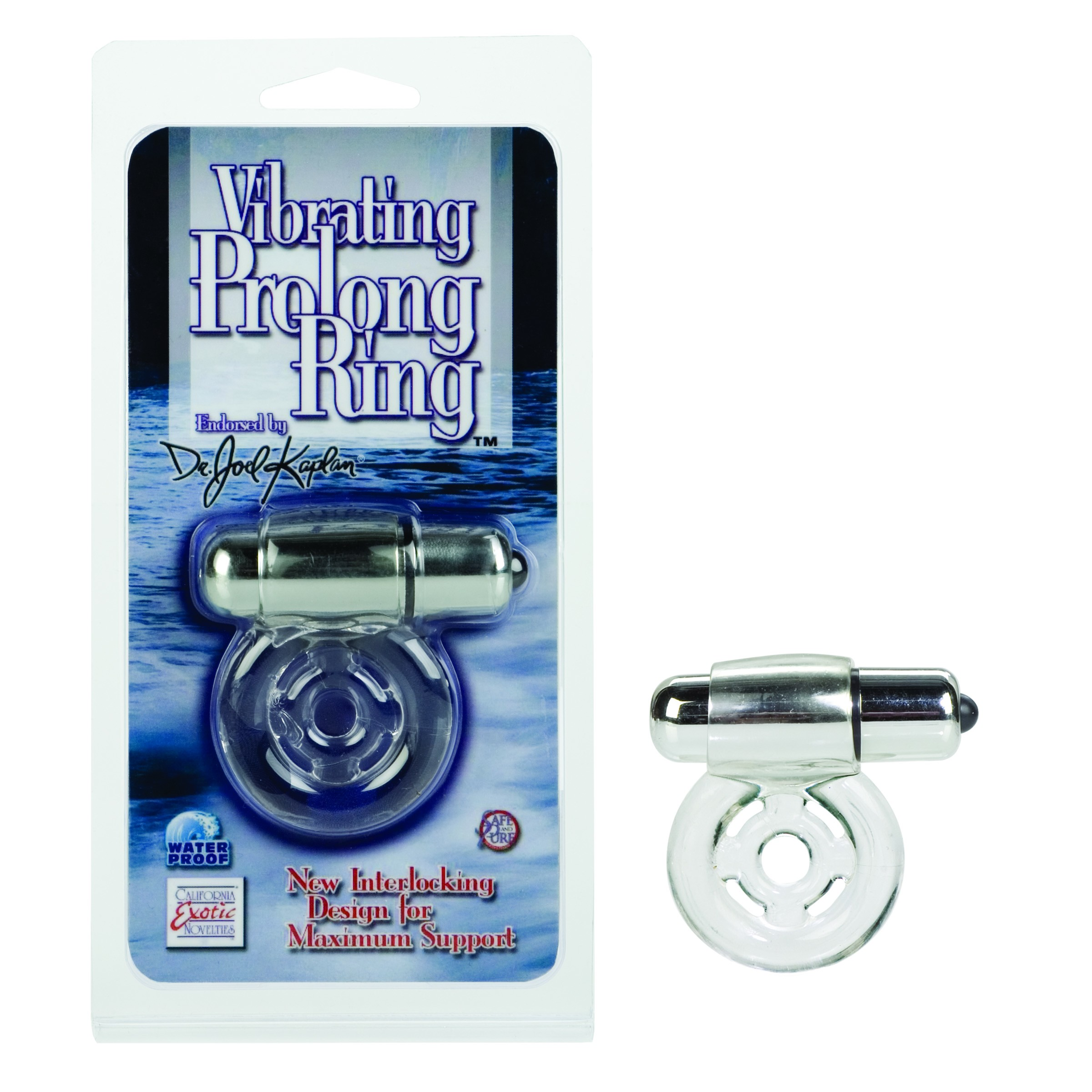Dr. Joel Kaplan Vibrating Prolong Ring (clear)
