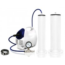 "Premium Electric Pump System w/ 12"" Cylinders"