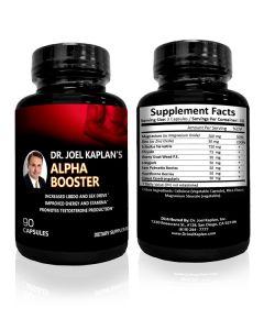 Dr. Joel Kaplan's Alpha Booster Supplements